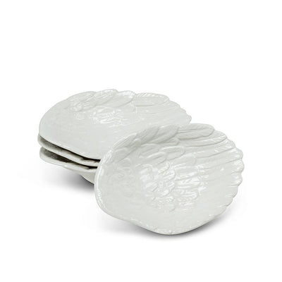 Small Angel Wing Dishes. Set of 4 | Putti Fine Furnishings