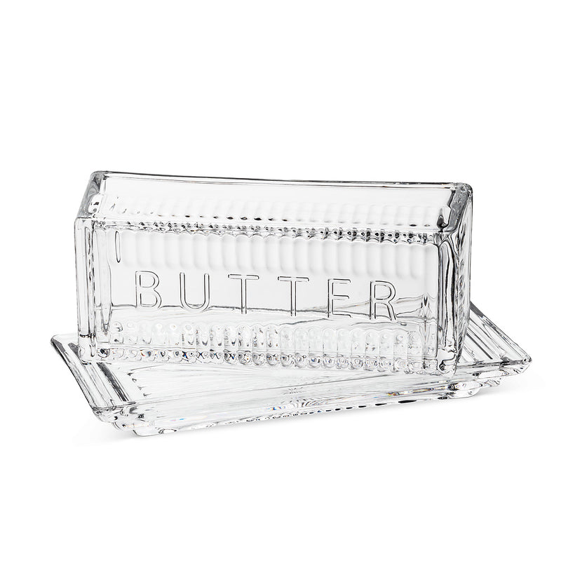 Quarter Pound Butter Dish with Cover, AC-Abbott Collection, Putti Fine Furnishings