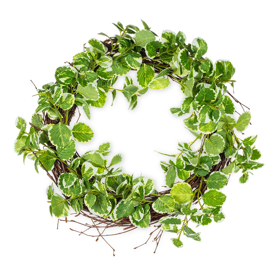 Variegated Greenery Wreath | Putti Fine Furnishings Canada