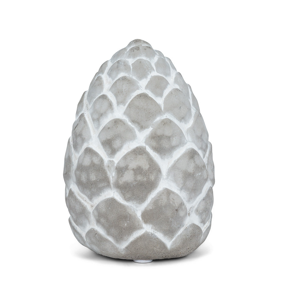Embossed Cement Pinecone - Putti Fine Furnishings Canada