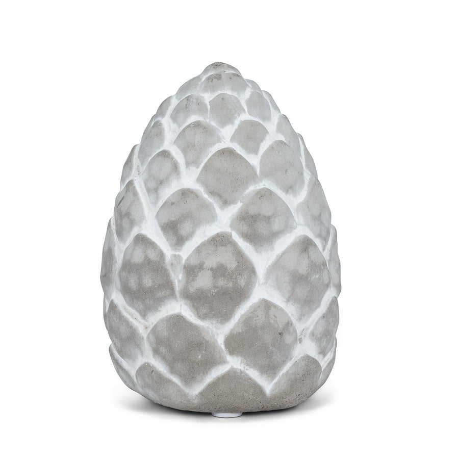 Embossed Cement Pinecone