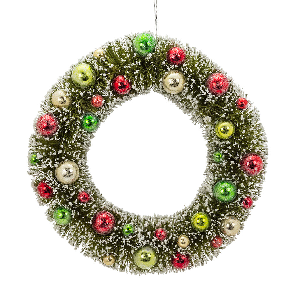 Large Green Brush Wreath