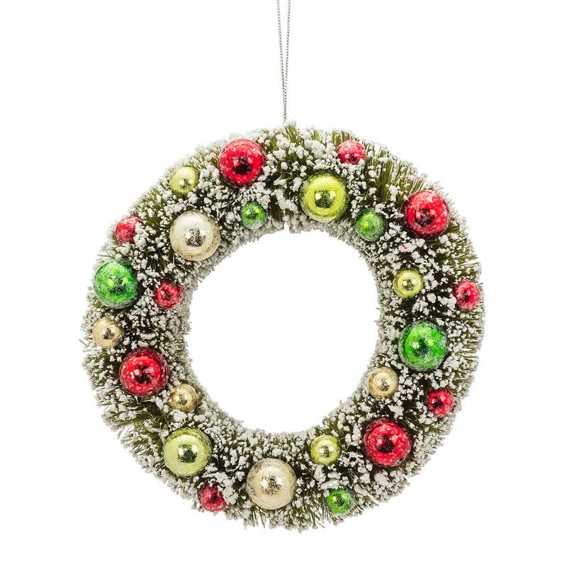 Medium Green Brush Wreath