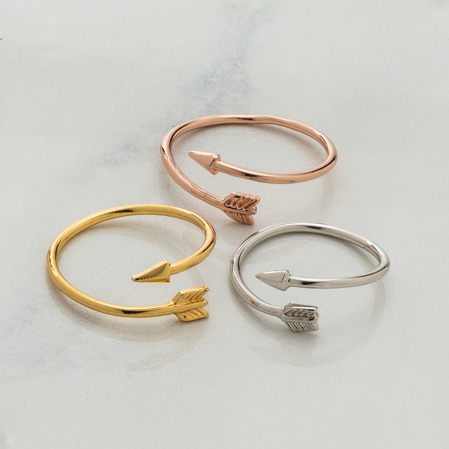 Arrow Ring - Rose Gold
