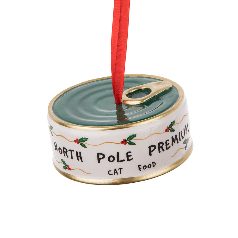 Cat Food Tin Ornament | Putti Celebrations Canada