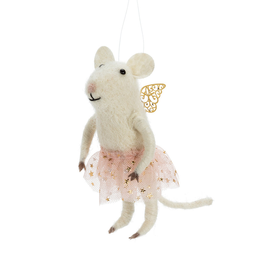 Fancy Ballerina  Felted Mouse