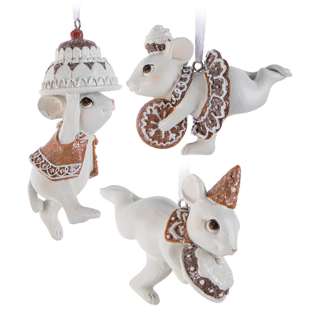 Mice with Treats Ornament | Putti Christmas Celebrations Canada