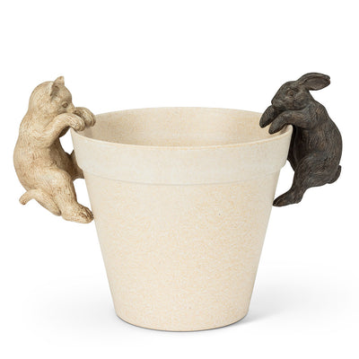 Hanging Pot Rabbit