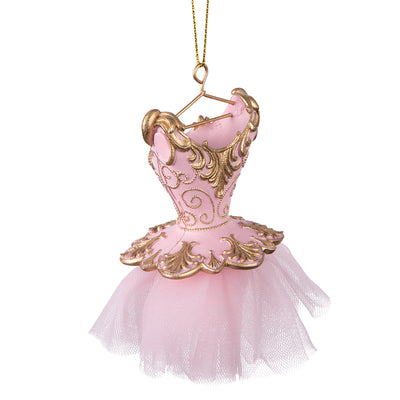Pink Ballerina Dress Ornament | Putti Christmas