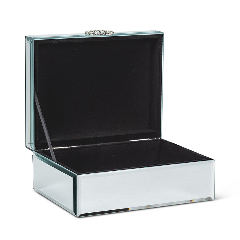 Rectangle Mirror Jewelry Box