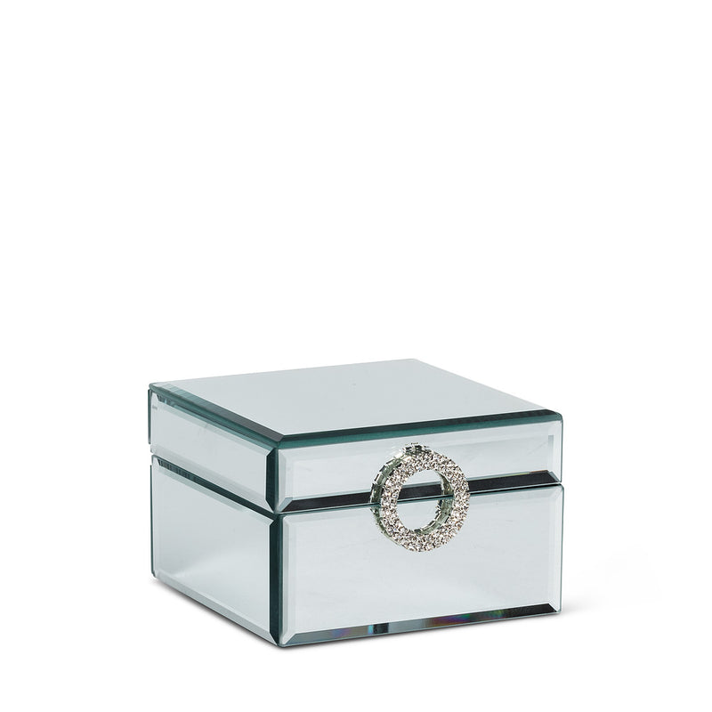 Square Mirror Jewelry Box