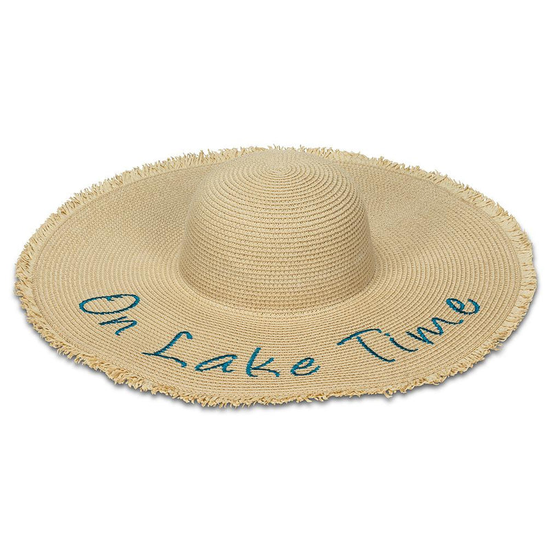 """On Lake Time"" Sun Hat 