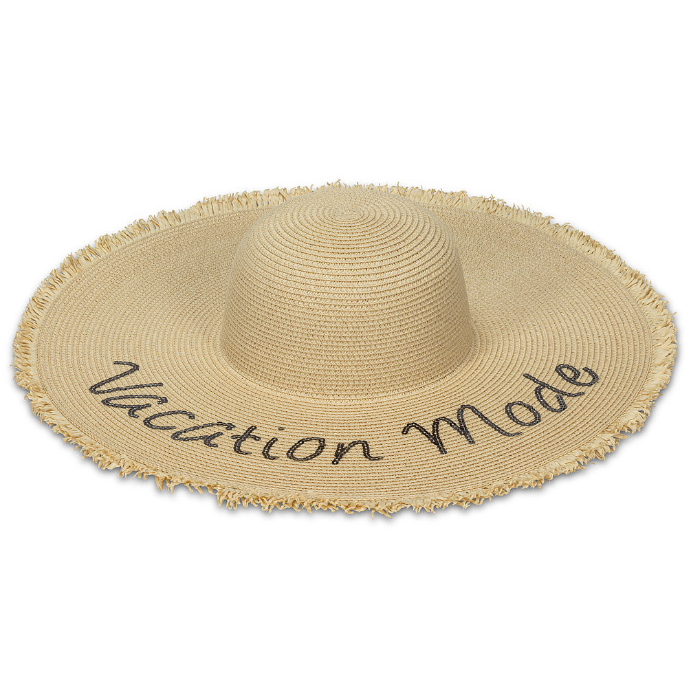 """Vacation Mode"" Sun Hat 