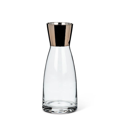 Small Carafe with Metallic Top - Putti Fine Furnishings Canada