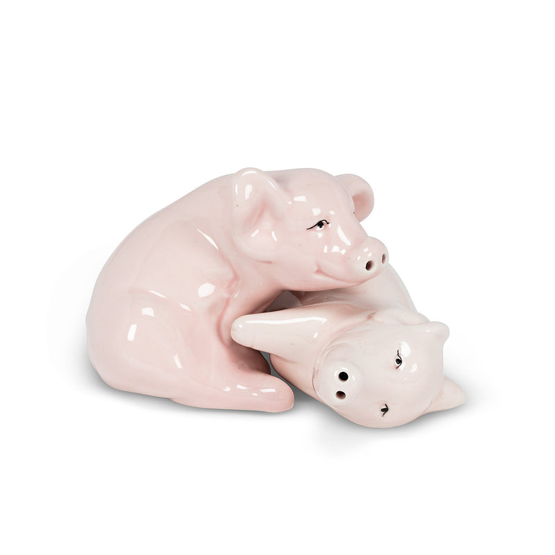Nesting Pigs Salt & Pepper | Putti Fine Furnishings Canada