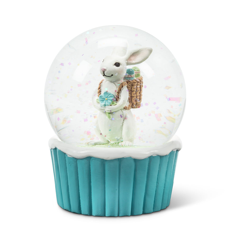 Bunny with Egg Easter Water Globe | Le Petite Putti