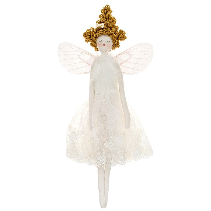 Cream Fabric Fairy Angel - Large