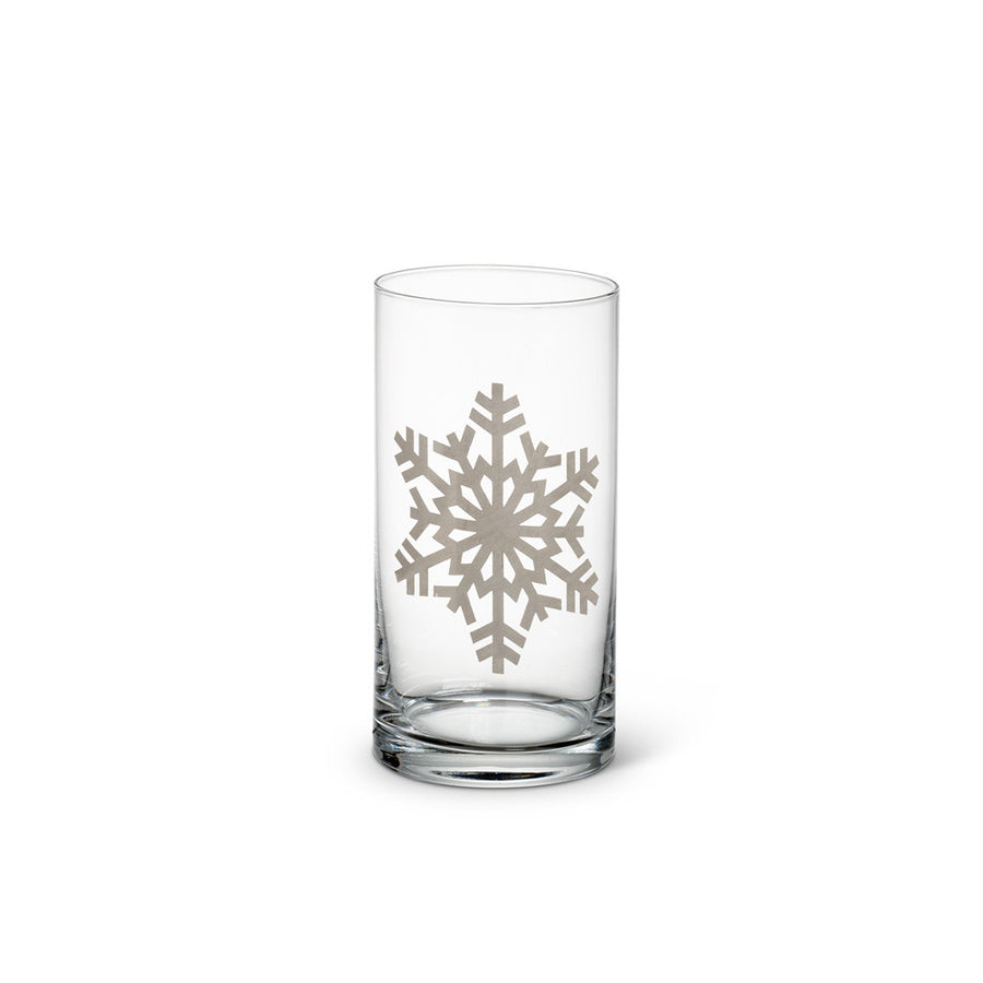 Silver Snowflake Highball