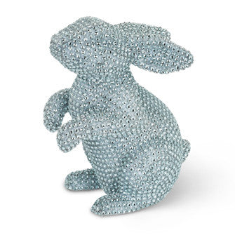 Large Pastel Rhinestone Rabbit-Easter-AC-Abbott Collection-Blue-Putti Fine Furnishings