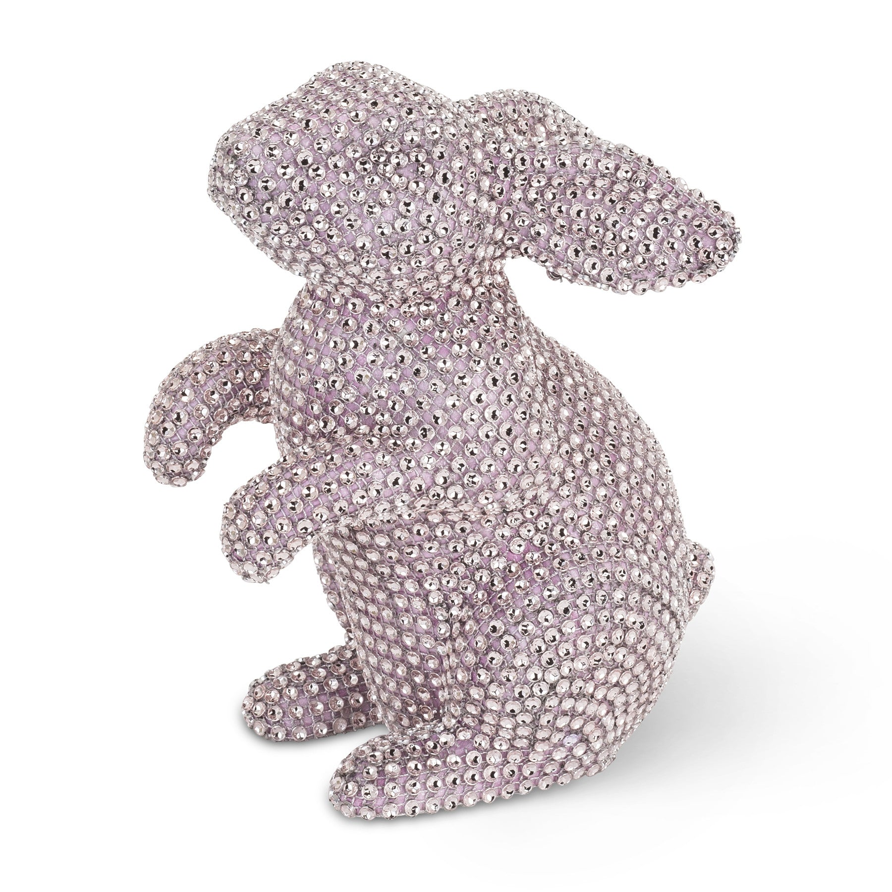 Large Pastel Rhinestone Rabbit-Easter-AC-Abbott Collection-Pink-Putti Fine Furnishings