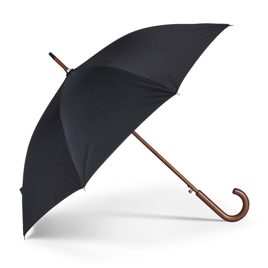 Classic Black Umbrella with Cloud Lining