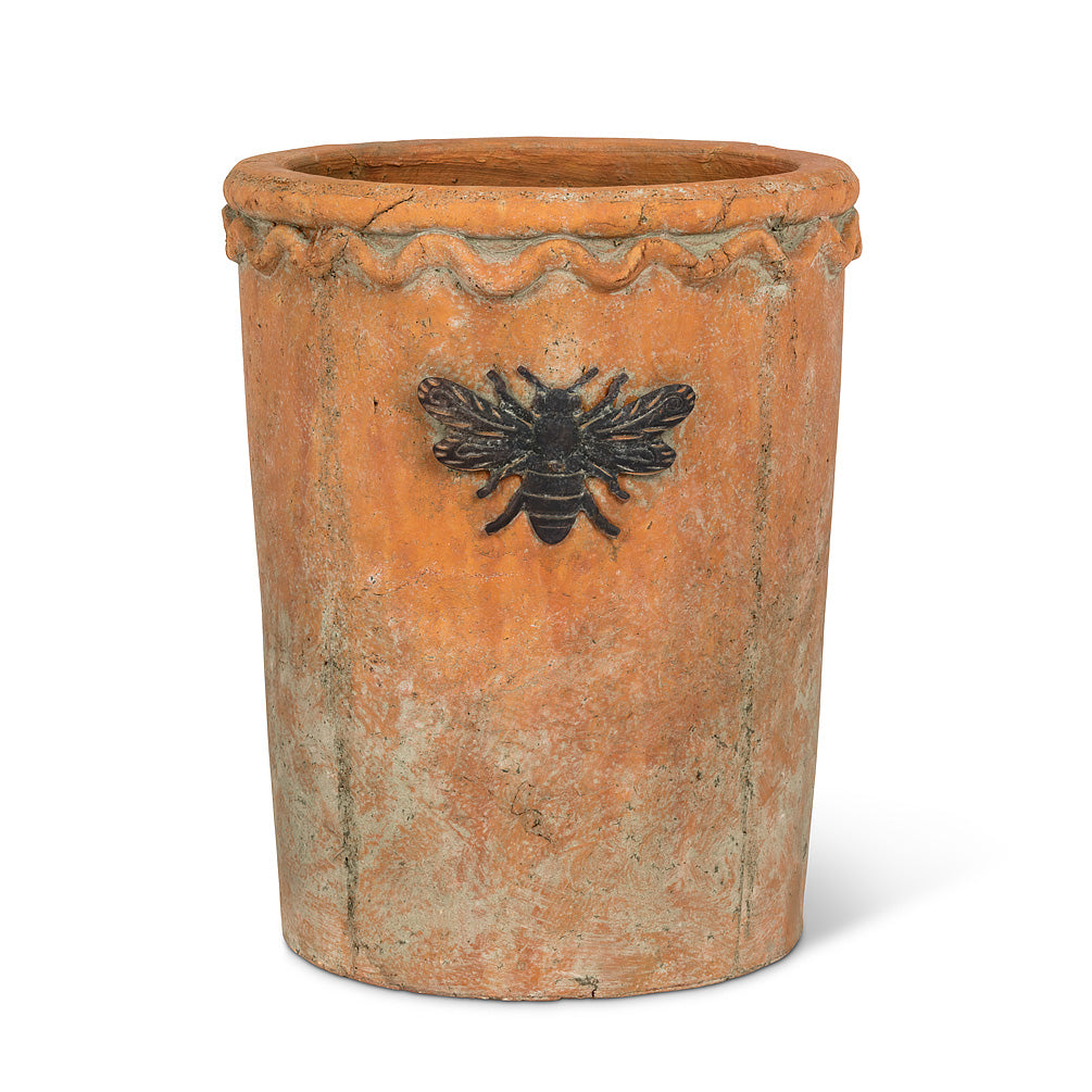 Moss Cooler Planter with Bee - Tall, AC-Abbott Collection, Putti Fine Furnishings