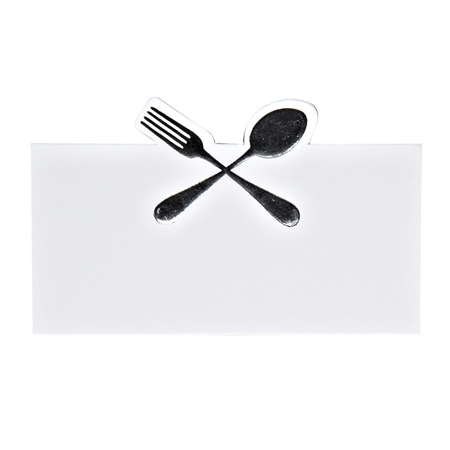 Spoon & Fork Placecard