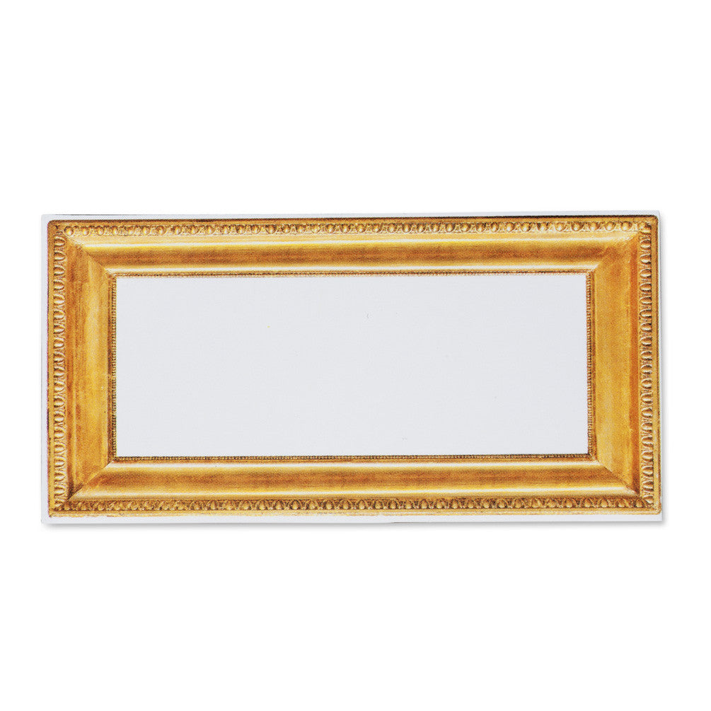 Rectangular Gold Frame Place Cards, AC-Abbott Collection, Putti Fine Furnishings