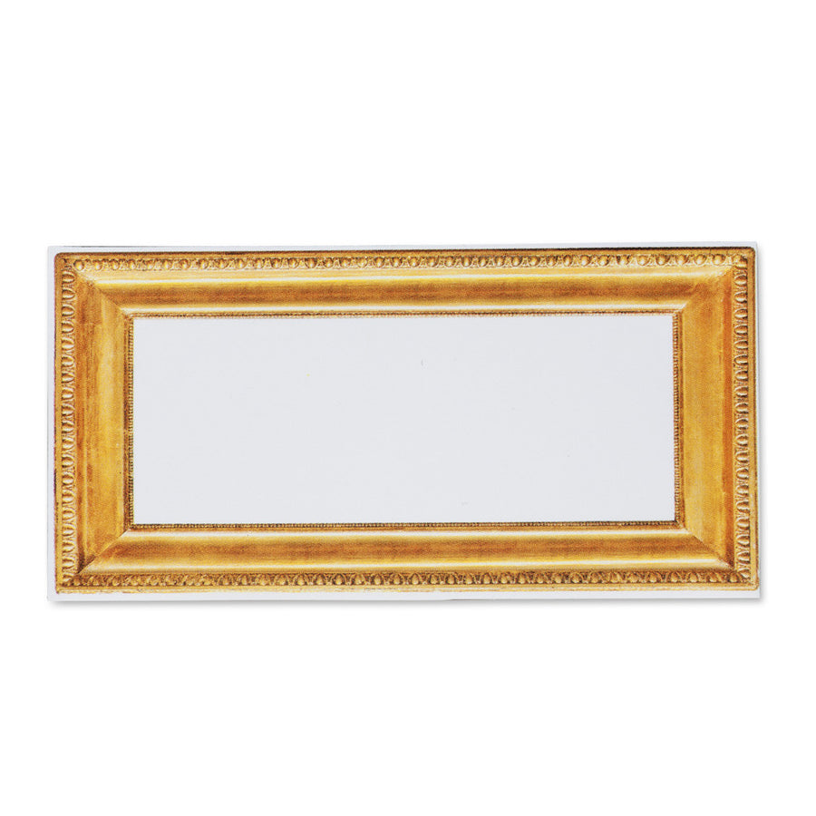 Rectangular Gold Frame Place Cards