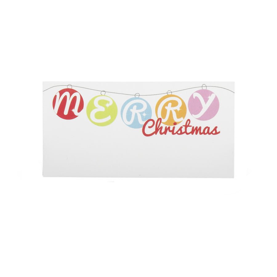 """Merry Christmas"" Place Cards"