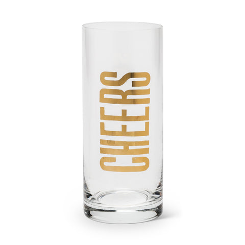 """Cheers"" Highball -  Glassware - Abbot Collection - Putti Fine Furnishings Toronto Canada"