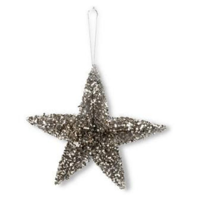 Vintage Brush Star Ornament