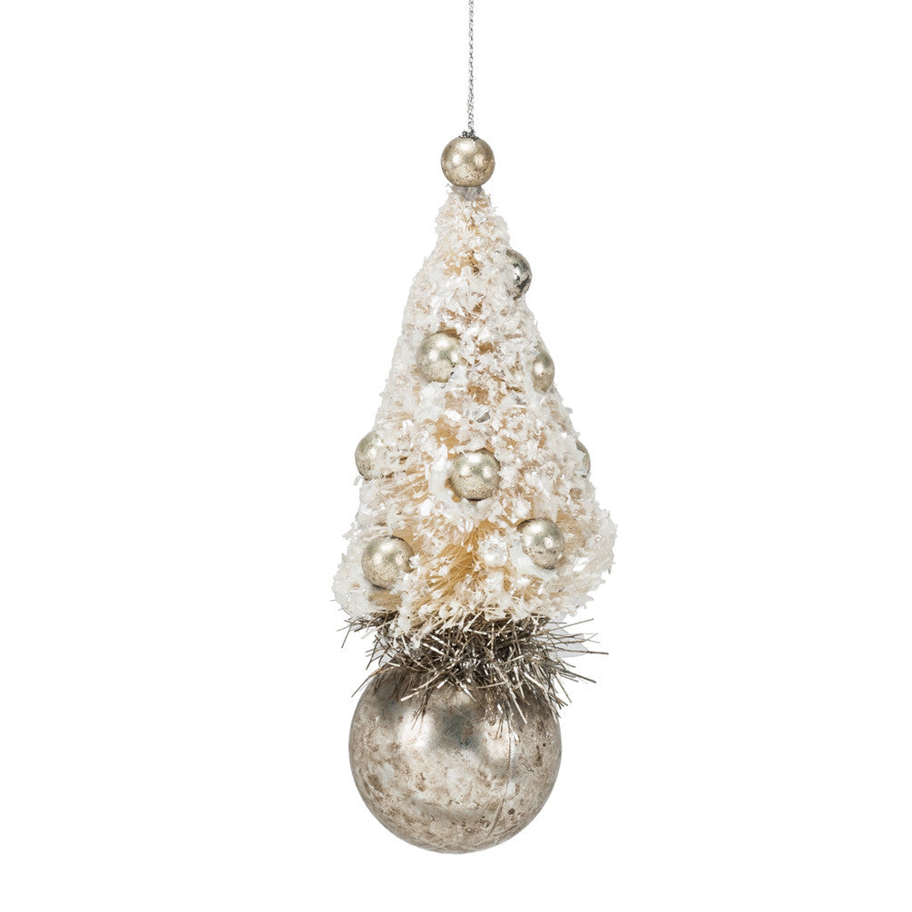Tree on Ball Ornament