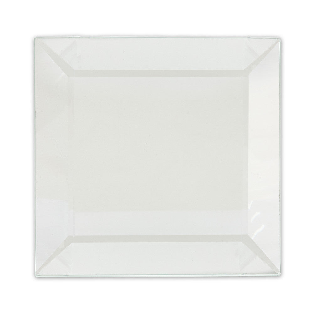 Square Bevelled Mirror Coaster -  Christmas - AC-Abbot Collection - Putti Fine Furnishings Toronto Canada - 1
