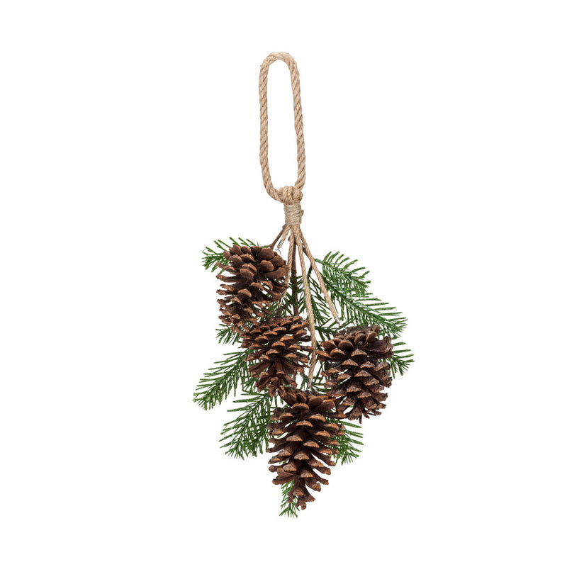 Pinecone Pendant -  Christmas - AC-Abbot Collection - Putti Fine Furnishings Toronto Canada