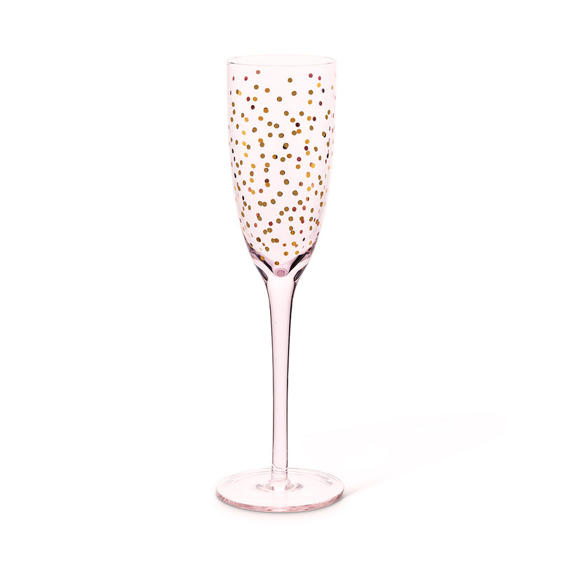 Pink Flute with Mini Dots, AC-Abbott Collection, Putti Fine Furnishings