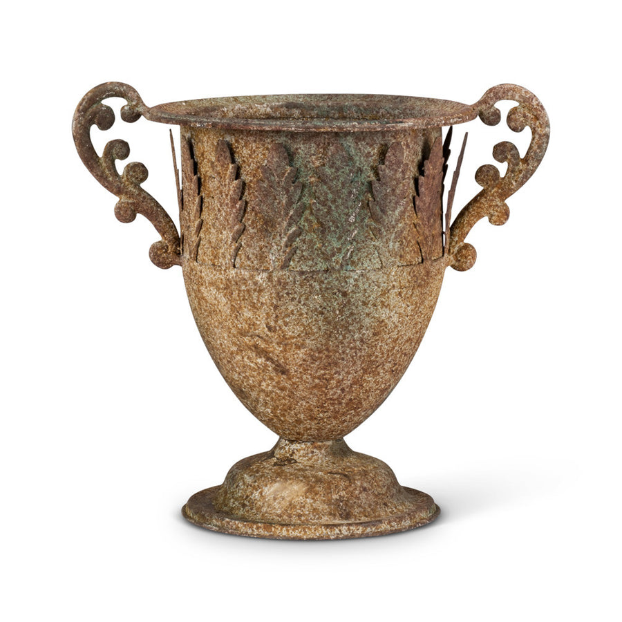 Small Leaf Rustic Urn