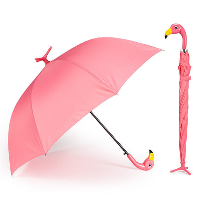 Flamingo Stick Umbrella -  Personal Accessories - AC-Abbot Collection - Putti Fine Furnishings Toronto Canada - 1