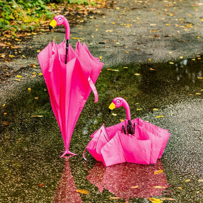 Flamingo Stick Umbrella | Putti Fine Fashions Canada