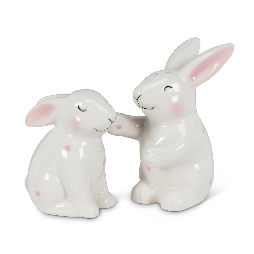 Polka Dot Bunny Salt & Pepper