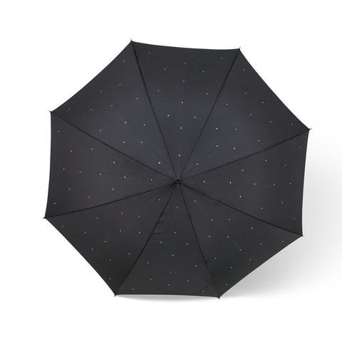 Black Umbrella with Gems -  Personal Accessories - AC-Abbot Collection - Putti Fine Furnishings Toronto Canada - 1