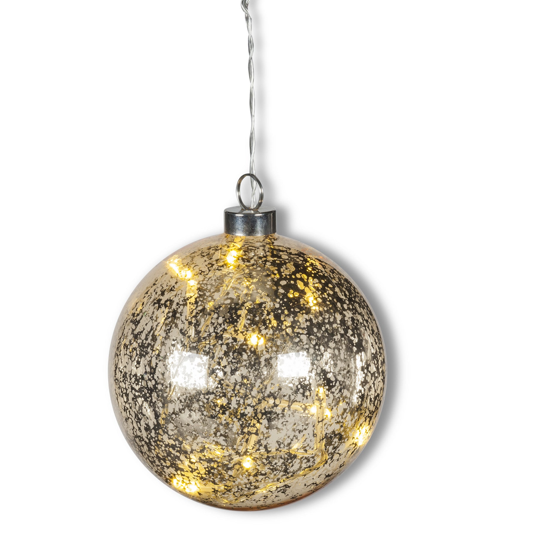 Hanging Ball LED Light - Gold