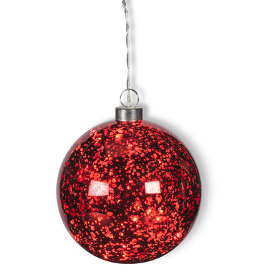 Hanging Ball LED Light - Red, AC-Abbott Collection, Putti Fine Furnishings