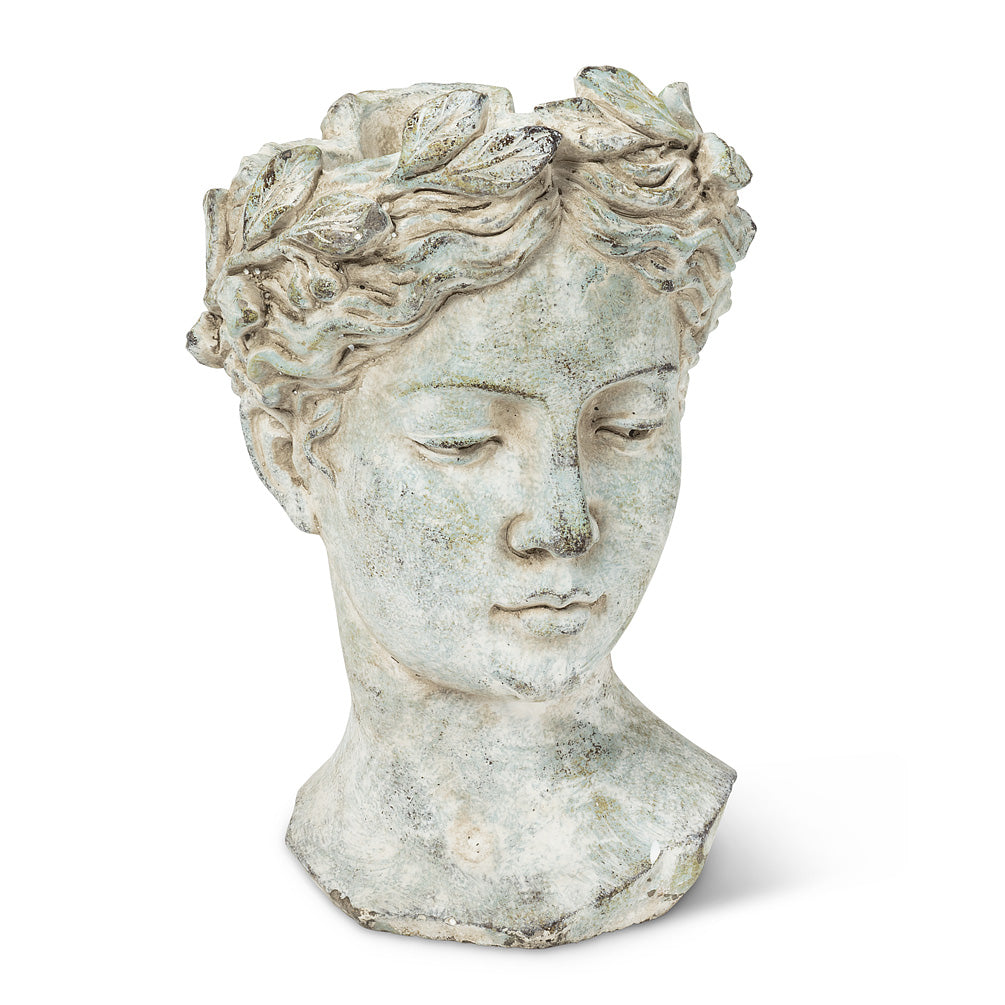 Woman Head Planter - Large