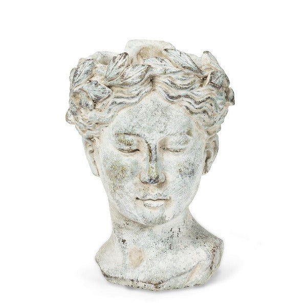Woman Head Planter - Small, AC-Abbot Collection, Putti Fine Furnishings