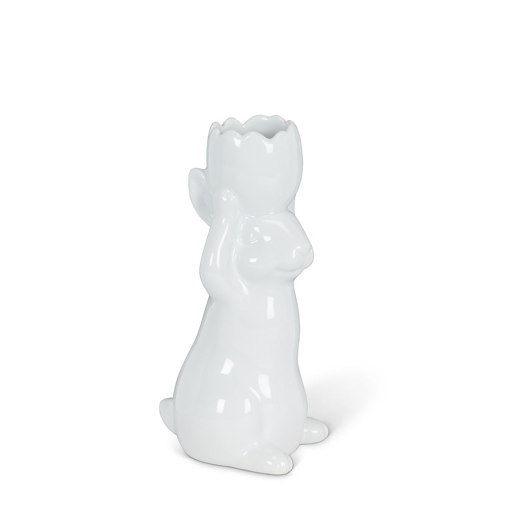Small Standing Rabbit Vase, AC-Abbot Collection, Putti Fine Furnishings