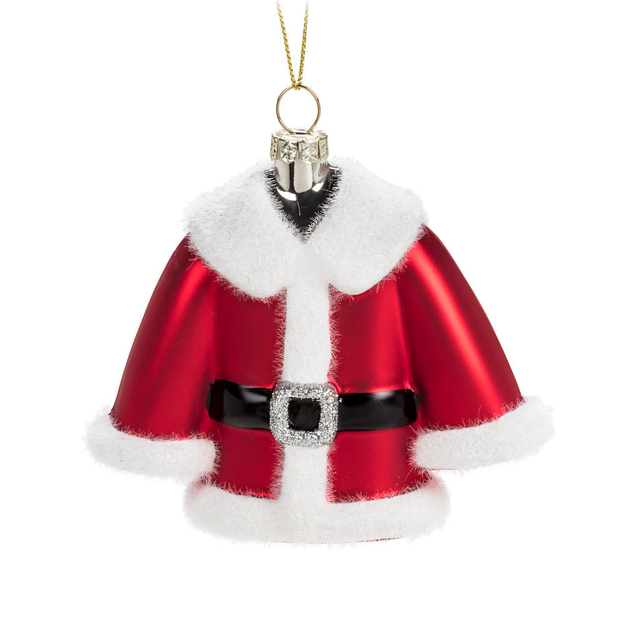 Santa Coat Ornament