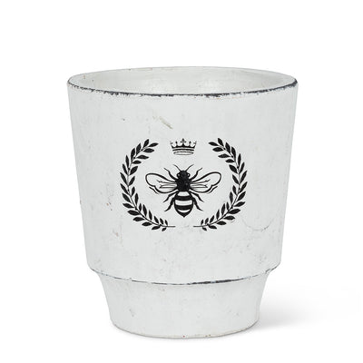 Bee Crest Planter - Large, AC-Abbott Collection, Putti Fine Furnishings