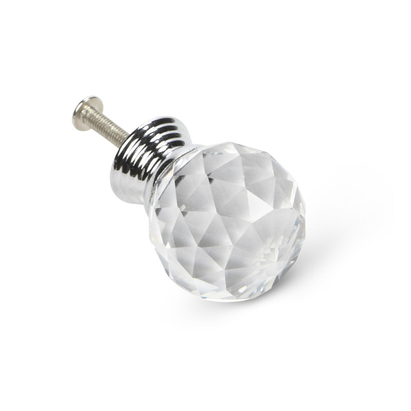 Cut Crystal Ball Knob, AC-Abbott Collection, Putti Fine Furnishings