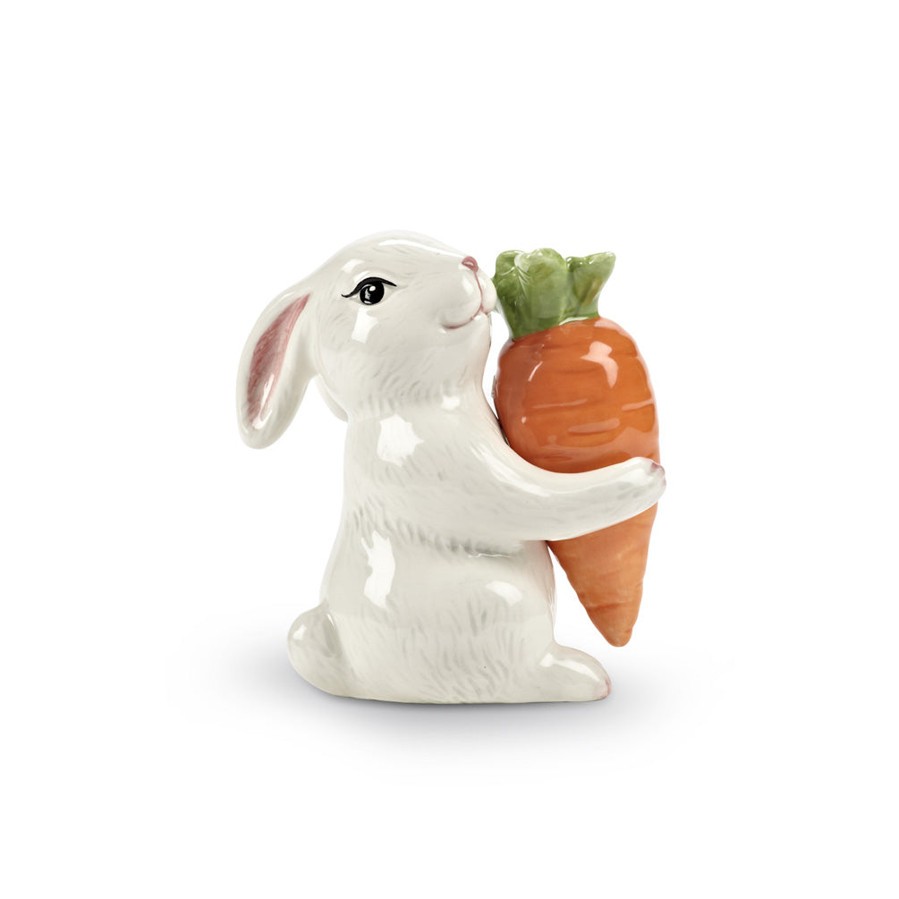 Bunny & Carrot Salt & Pepper, AC-Abbott Collection, Putti Fine Furnishings